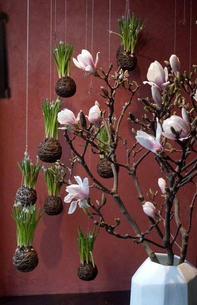 """Интересные идеи горшков для цветов: подвесной """"горшок"""""""