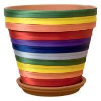 Декорирование горшков для цветов своими руками: советы и рекомендации