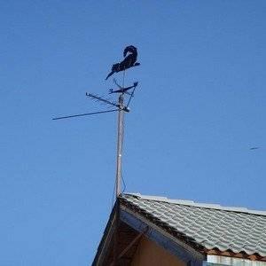 Антенну можно устанавливать на даче