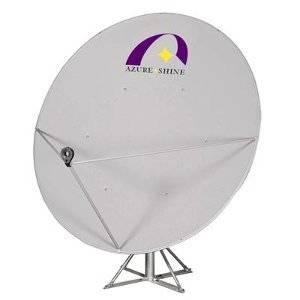 На даче можно установить спутниковую антенну