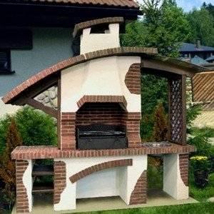 Барбекю на даче строим своими руками