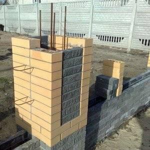 Декоративные столбы можно сделать самостоятельно