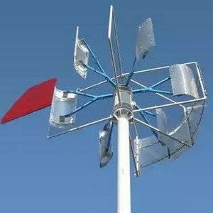 Ветряной генератор поможет на даче