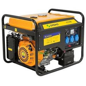Газовый генератор работает на газу