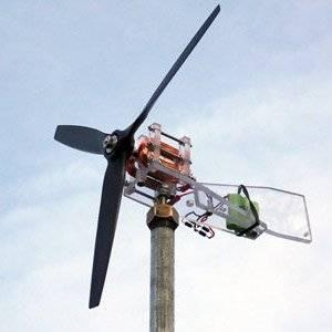 Ветрогенератор можно построить своими руками