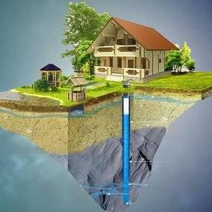 Водоснабжение дома осуществялют от скважины