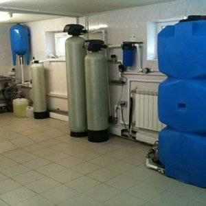 Для водоснабжения дома нужна отдельная комната