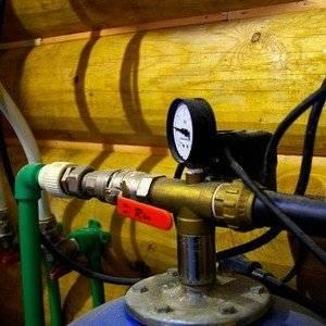 Для водоснабжения из колодца используют систему насосов