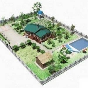 Проект сада должен быть продуманным