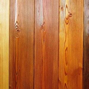Лаки для защиты древесины бывают разноцветные