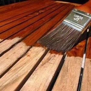 Для защиты древесины используют защитные масла